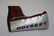 Odyssey metallo x Putter Headcover in nuove condizioni (piccole BLADE 14cm Long)