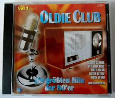 CD de musique en album années 80