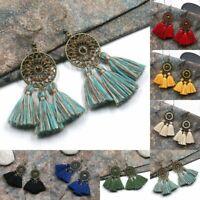 Earrings Fringe Bohemian Women Vintage Long Tassel Earrings Dangle Fashion Boho