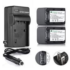 NP-FH70 Battery Charger for Sony HandyCam DCR-SR42 SR45 SR47 HDR-SR11 DCR-DVD108