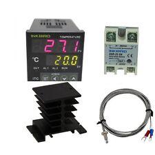 Inkbird ITC-100VH 110V~240V PID temp. controller K sensor 25DA SSR heat sink °C