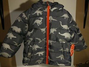 Wonder Nation Dinosaur Winter Jacket Kid 2T
