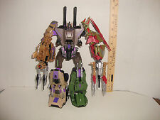 TRANSFORMERS  PLATINUM BRUTICUS WITH X-TRANSBOTS BOOSTICUS UPGRADE KIT COMPLETE