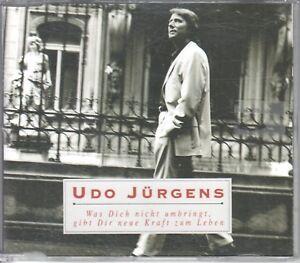 Udo Jürgens  CD-SINGLE  WAS DICH NICHT UMRINGT , GIBT DIR NEUE .....   (c) 2001