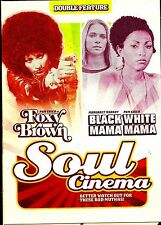 Foxy Brown/Black Mama,White Mama.Pam Grier Double. Brand New In Shrink!