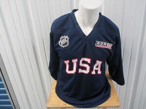 VINTAGE K1 TEAM USA MEN'S HOCKEY DEVELOPMENT SMALL REVERSAL PRACTICE JERSEY NHL