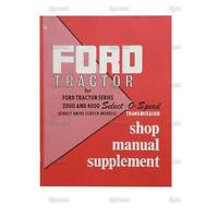 Ford Tractor Factory OEM Shop Manual Select-O-Speed Transmission 2000 4000 NEW