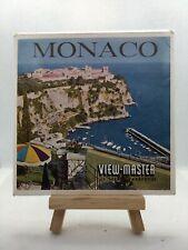 3 View Master Reels - Monaco - C115-D - 🎞️