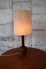 Tolle Teak Lampe,Tischlampe, Leuchte, Vintage, danish.