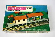 Life-Like Buildems Ho Pikesville Junction Building Train Kit No. 01347 Sealed