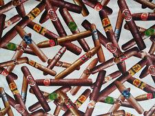 Zigarren 20 X 112 cm Baumwolle Tabak Cabinet Oscuro Seco Milde Lounge Longfiller