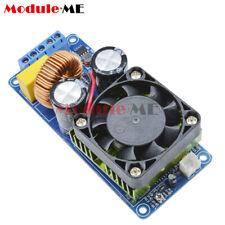 500W IRS2092S Digital Mono Channel Amplifier Class D HIFI Power Amp Board + FAN