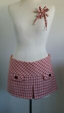 Abercrombie & Fitch wool A line Skirt matching brooch $240