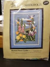 Something Special Needlepoint Bluebird Flower Garden 30543 Candamar New