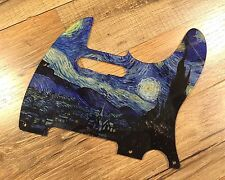Custom Van Gogh Starry Night Pickguard fits Fender® Telecaster® Tele® 8 hole
