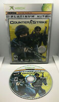 Counter Strike - PH - Case and Disc - Tested & Works - Original Xbox