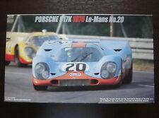 Fujimi 1/24 Porsche 917K  '70 Le-Mans  No.20   Rare & Vintage !