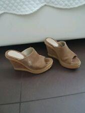391d08c5dd11b1 Scarpe donna sandali zeppe zatteroni scamosciati tacchi alti Polo Ralph  Lauren