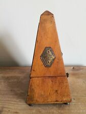 Antique Early Maelzel Metronome in Mahogany Case