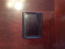 Filson Leather Card Case Brown Leather Wallet. Preowned