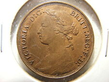Great Britain 1879 1/2 Penny, KM#754, VF+
