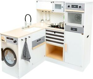 Children's Play Kitchen with Washing Machine and Oven