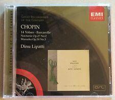 Chopin: 14 Valses; Barcarolle; Nocturne Op. 27 No. 2; Mazurka Op. 50 No. 3 (CD,