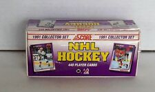 1991 Score NHL Hockey Complete 440 Trading Card Collector Set