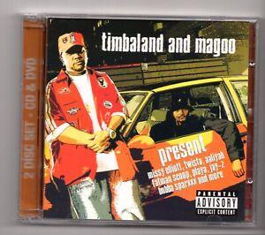 (IY132) Timbaland & Magoo, Present - 2004 New not Sealed CD+DVD