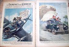 404) 1942 INCIDENTI VARI CON PARACADUTE LOTTO DI 2 DOMENICHE DEL CORRIERE