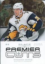 (HCW) 2008-09 Black Diamond Premier Die-Cut THOMAS VANEK  UD Sabres 00638