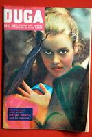 JANE FONDA ON COVER 1964 VERY RARE EXYU MAGAZINE