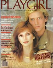PLAYGIRL October 1980 KENNY ROGERS Victoria Principal STEPHEN DRISDALE Military