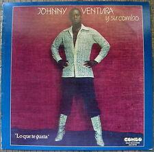Johnny Ventura Y Su Combo Lo Que Te Gusta Ley Seca Esta Navidad COMBO 1981 NMINT