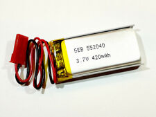 1S BMS PCB JST 2,54mm 300mAh 3,7V Lipo-Akku LxBxH = 43 x 30 x 3,0 mm A 303040