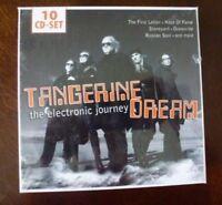 Electronic Journey (10CD Box) Tangerine Dream NEW