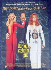 Der Tod Steht Ihr Gut - Hawn - Streep - Willis - A0 Filmposter Plakat (x-1216
