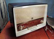 Radio antigua Philips, Diseño muy estético. Vintage especial