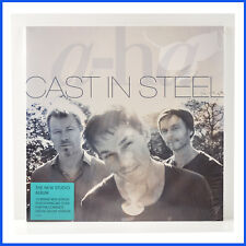 A-HA Cast In Steel New Factory Sealed 1st Edition Made in Europe Record Polydor