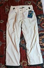 NWT O'Neill All Weather Protection Explore Series Pants cream with brown Small
