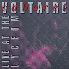 Cabaret Voltaire-Live at the Lyceum  CD NEUF