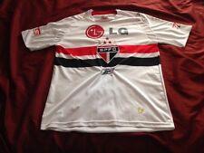 Reebok Sao Paulo FC  SPFC Dagoberto 10 Men's Small Soccer Jersey