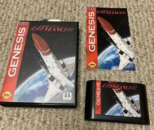 Sega Genesis Advanced Busterhawk Gleylancer, English. Game, Case, Manual Repro.