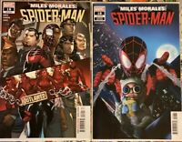 MILES MORALES SPIDER-MAN #18 RAHZZAH BABY VAR & COVER A SET 🕸 NM! MARVEL 2020