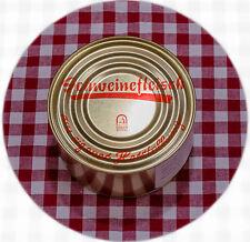 12 Dosen Schweinefleisch (Dosenwurst) á 390g  29,50 (kg=6,31 inkl. 7% MwSt)