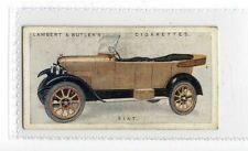 (Jy831-100) Lambert & Butler,Motor Cars A Series,Fiat,1922 #17
