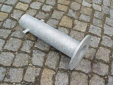Erdstück 500mm für Pollerleuchte / Lichtmast, verzinkt, Stahl, Lochkreis 200mm