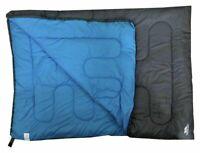 Trespass Double Envelope 400GSM Sleeping Bag Camping/festival sleep over