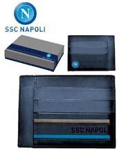 Portacarte di credito Napoli calcio *19074 vendita gadget idee regalo abbigliame