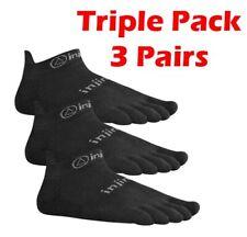 Injinji Run 2.0 Lightweight No Show Toe Socks Barefoot Running No Blisters X 3